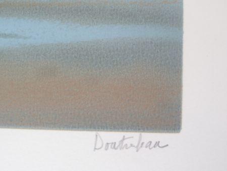Lithographie Doutreleau - La vague
