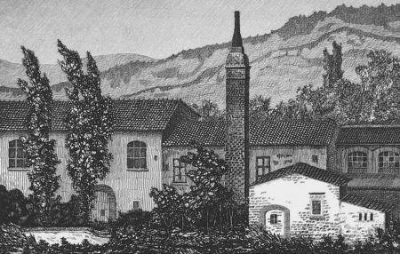 Eau-Forte Mongatti - La vecchia fornace