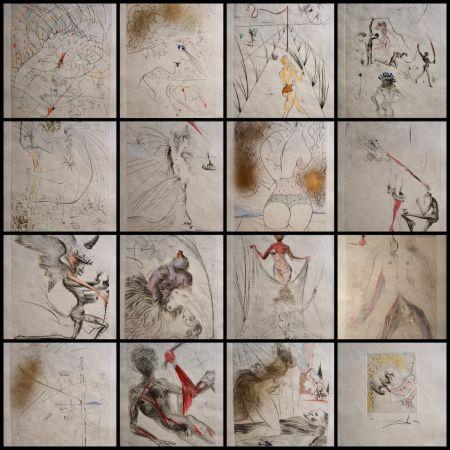 Gravure Dali - La Venus aux Fourrures Complete Suite