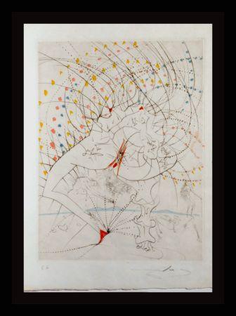 Gravure Dali -  La Venus Aux Fourrures Lady Leaf