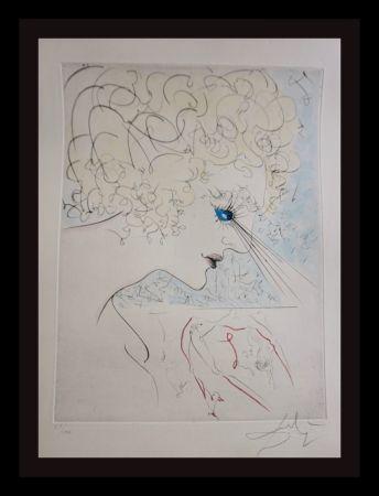 Gravure Dali - La Venus Aux Fourrures The Head