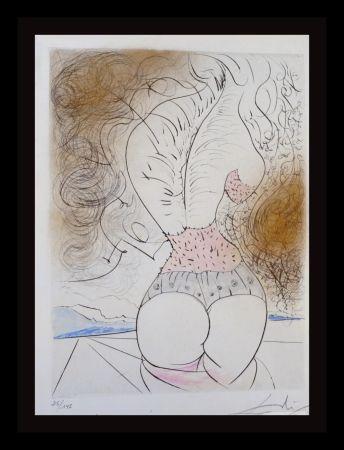 Gravure Dali - La Venus Aux Fourrures The Torso