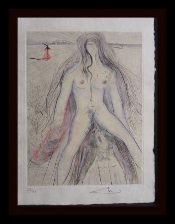 Gravure Dali -  La Venus aux Fourrures Woman on Horse