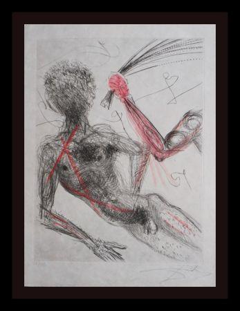 Gravure Dali - La Venus Aux Fourrures Woman With Whip