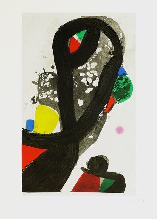 Gravure Miró - La veuve de corsaire