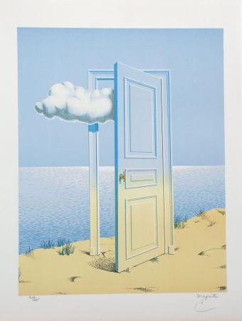 Lithographie Magritte - La Victoire