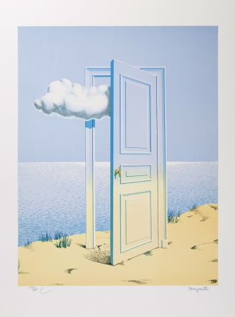 Lithographie Magritte - La Victoire (The Victory)