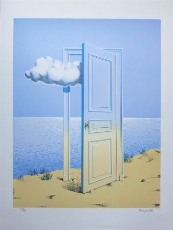 Lithographie Magritte - La Victore (Victory)
