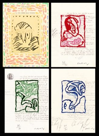 Livre Illustré Alechinsky - La vie comme elle tourne