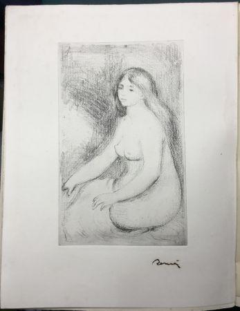 Eau-Forte Renoir - LA VIE ET L'ŒUVRE DE PIERRE-AUGUSTE RENOIR (A. Vollard 1919)