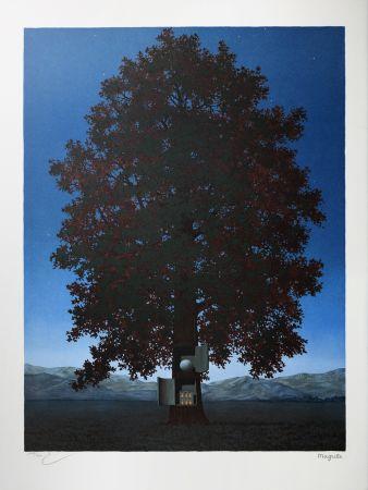 Lithographie Magritte - La Voix du Sang (The Voice of Blood)