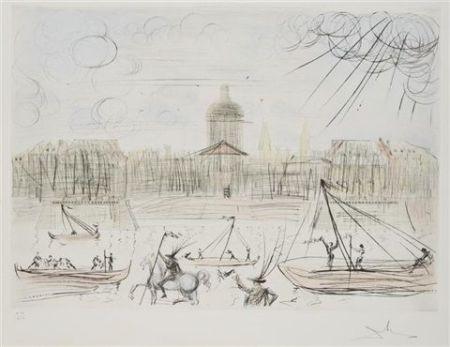 Eau-Forte Et Aquatinte Dali - L'accademie de Paris