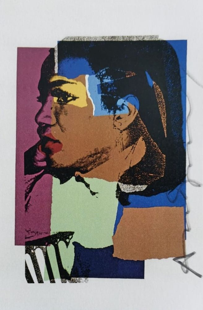 Sérigraphie Warhol -  Ladies and Gentleman (Signed)