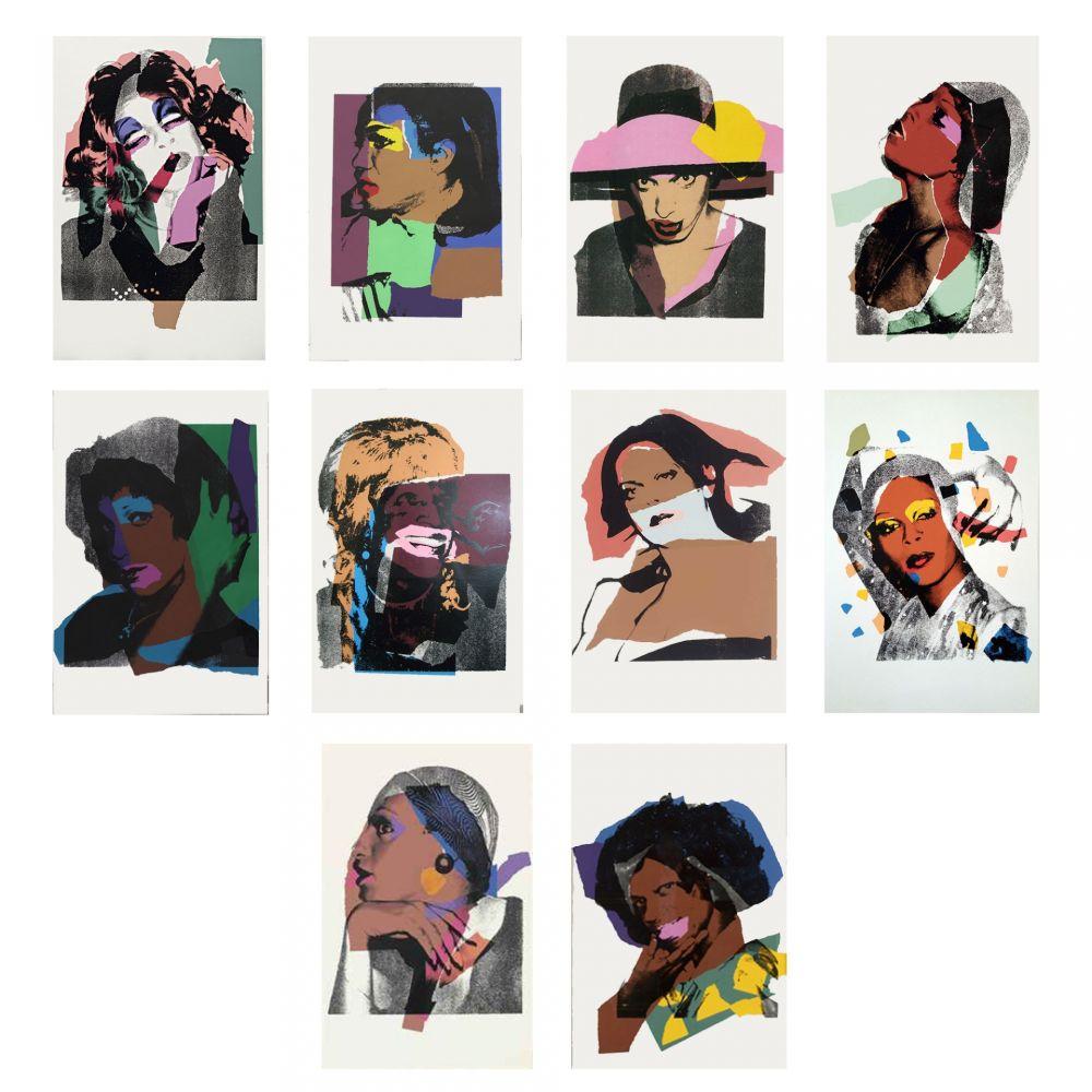 Sérigraphie Warhol - Ladies and Gentlemen (FS II.128-137)