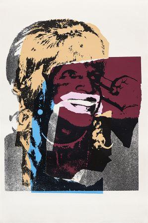 Sérigraphie Warhol - Ladies and Gentlemen, Orange (FS II.133)