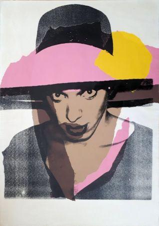 Sérigraphie Warhol - Ladies & Gentlemen : The pink hat