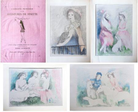 Livre Illustré Laurencin - L'Adroite Princesse : ou LES AVENTURES DE FINETTE, conte de fées.