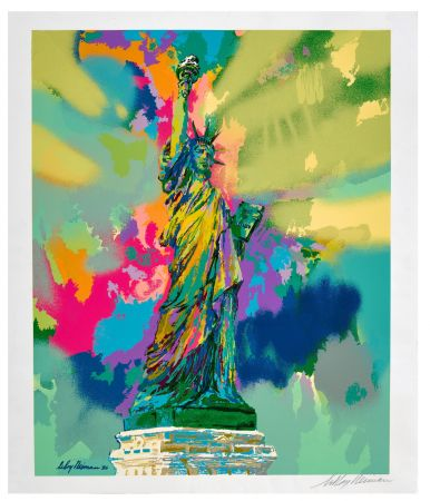 Sérigraphie Neiman - Lady Liberty