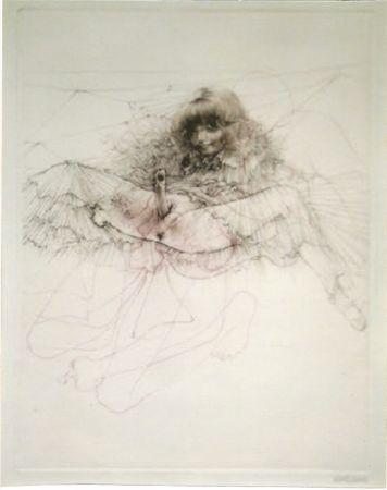Aquatinte Bellmer - L'aigle mademoiselle