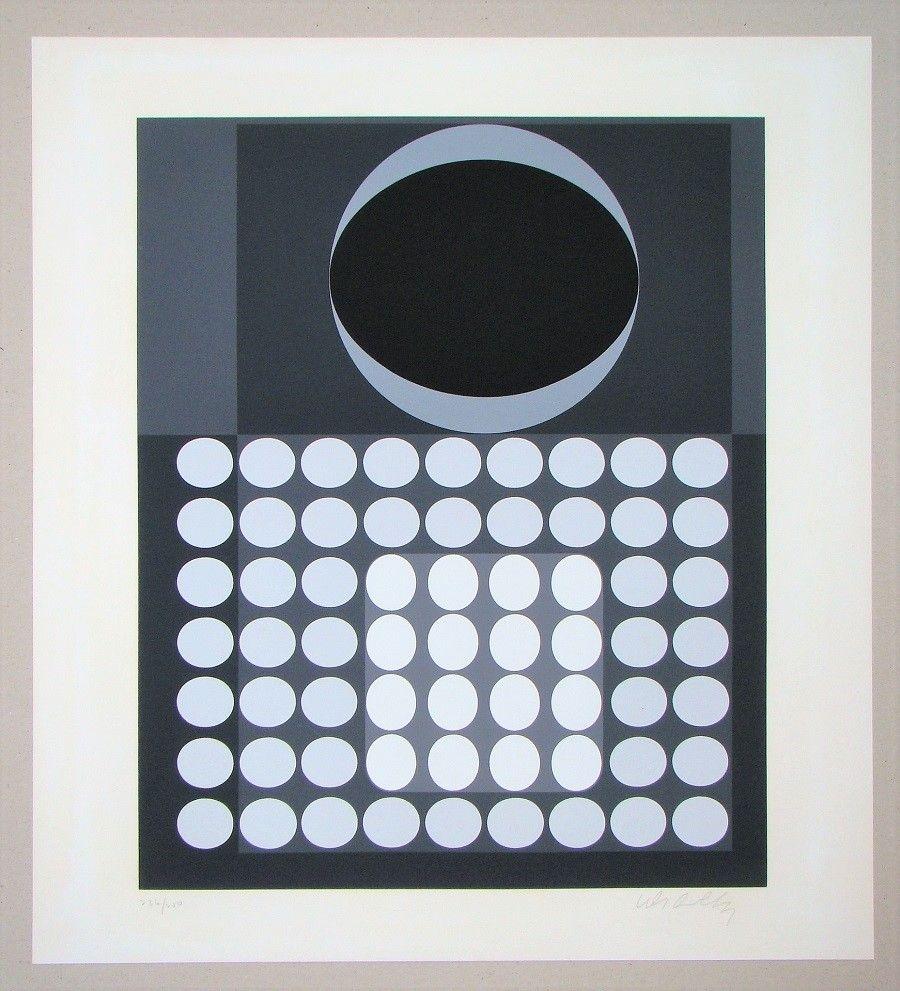 Sérigraphie Vasarely - Laika
