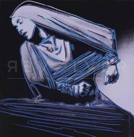 Sérigraphie Warhol -  Lamentation (FS II.388)