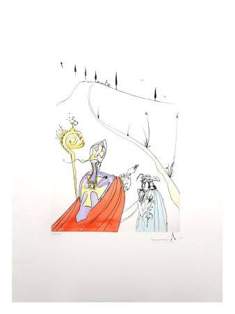 Lithographie Dali - L'Amour Sacré de Gala