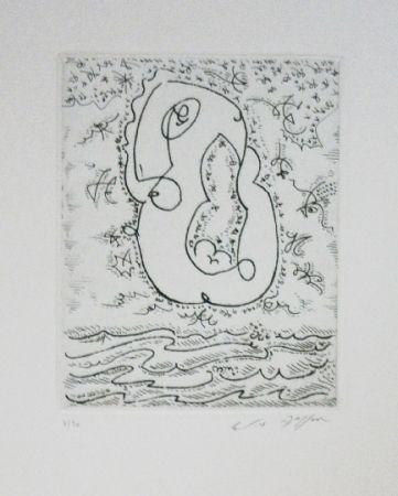 Eau-Forte Et Aquatinte Masson - L'amour sur les flots