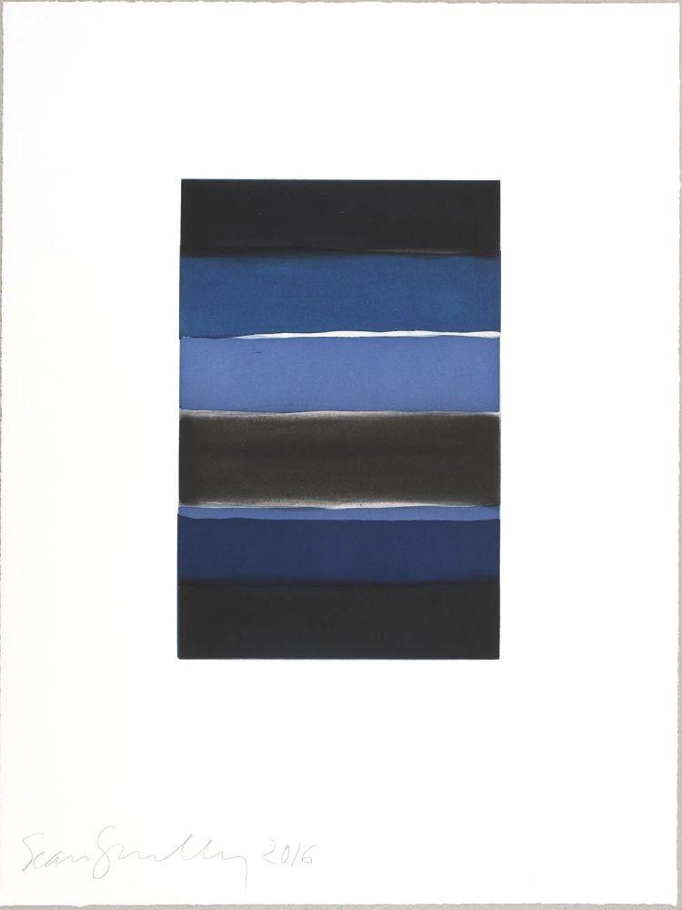 Aquatinte Scully - Landline (blue)