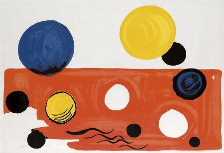 Lithographie Calder - Landscape