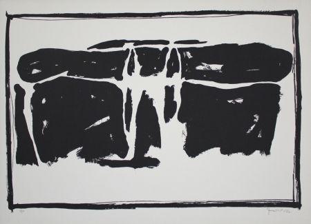 Lithographie Hernandez Pijuan - Landscape 1