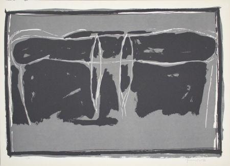 Lithographie Hernandez Pijuan - Landscape 2