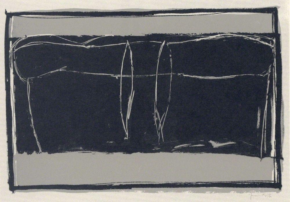 Lithographie Hernandez Pijuan - Landscape 3