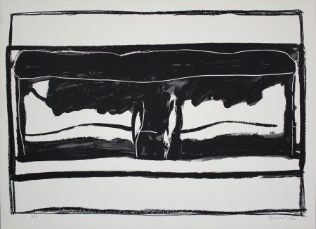 Lithographie Hernandez Pijuan - Landscape 6