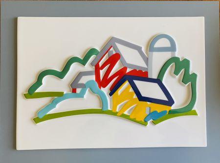 Céramique Wesselmann - Landscape II- 3D Objekt