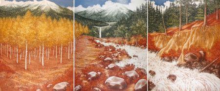 Eau-Forte Culpepper - Landscape (Triptyque)
