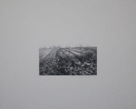 Lithographie Siegert - Landschaft