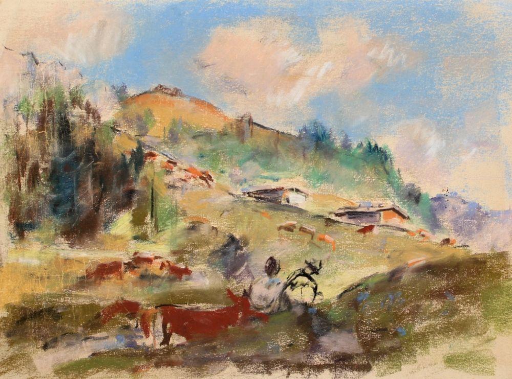 Aucune Technique Ludwig - Landschaft (Landscape)
