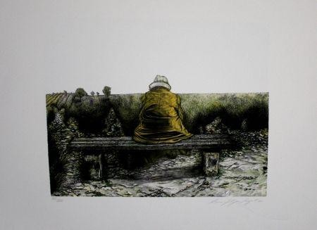 Lithographie Siegert - Landschaft wie ich sie kenne