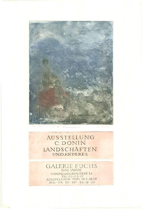Gravure Donin - Landschaften und Anderes