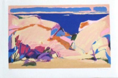 Lithographie Godard - Languedoc