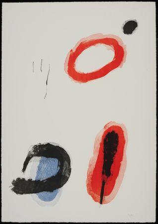 Lithographie Miró - L'anneau