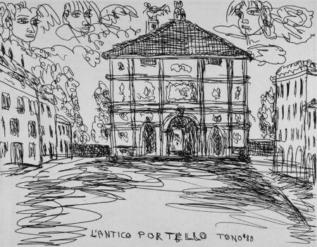 Eau-Forte Zancanaro - L'antico Portello