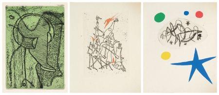 Livre Illustré Miró - L'antitete