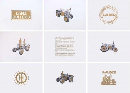 Lithographie Hamilton - Lanz Project