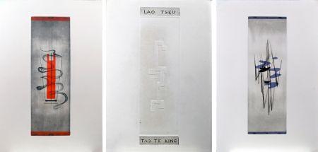 Livre Illustré Springer - Lao-Tseu : Tao Te King : 17 burins en couleurs de F. Springer (1952)