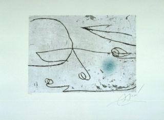 Eau-Forte Et Aquatinte Miró - Lapidari, Safir