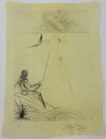Pointe-Sèche Dali - L'arriée de la mousson le bucher le bicéphale