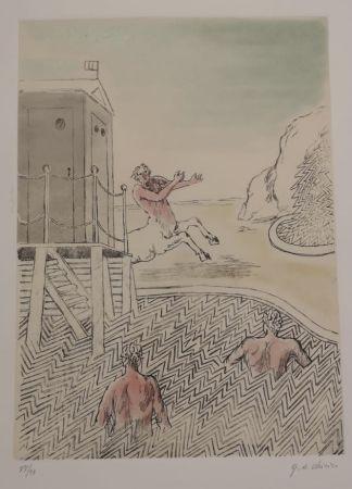 Eau-Forte Et Aquatinte De Chirico - L'ARRIVO DEL CENTAURO