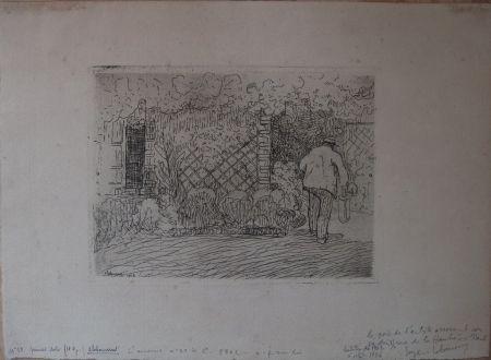Eau-Forte Laboureur - L'Arrosoir