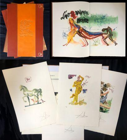 Livre Illustré Dali - L'ART D'AIMER. 15 gravures originales de Salvador Dali.